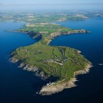 Aerial photo of Old Head Golf Links