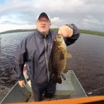 Small mouth bass on Wigwam