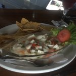 Ceviche de pecado :) it's the best ceviche I had ever had. Highly recommend you try it