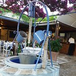 Water feature in Taverna Ionio