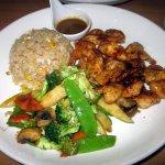 Combination Chicken & Shrimp Hibachi