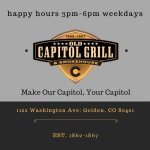 Happy Hours 3PM-6PM Weekdays