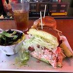 Lobster Club sandwich.