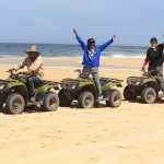 The Carisuva ATV tour with Oscar (tour guide) and my husband. Amazing time!