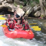 July 12, 2017 Trip down Nantahala Falls with Adventurous Fast Rivers Rafting.
