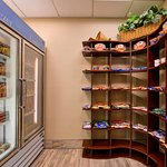 Need a snack or frozen meal?  Stop by our 24-hour snack shop, located next to the front desk.