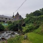 The lovely stream under the bridge