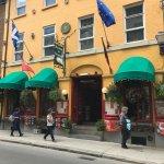 Street front of Restaurant Parmesan