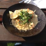 Scallop and prawn linguine (special)
