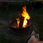 A good fire!