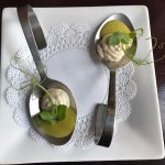 amuse bouche of mint!