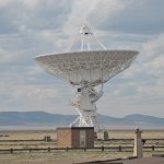 On arrival at VLA, Soccorro, NM.