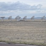 Satellite Dishes being Repositiioned. VLA Soccorro, NM