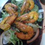 King prawn dish