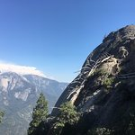 A view from near the bottom of Moro Rock