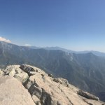 Panorama from the top of Moro Rock
