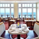 Every table has oceanfront views at the C restaurant + bar