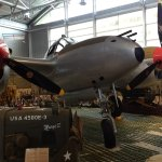 Museum has a lot of military artifacts, including this plane