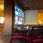 plentiful TV's in the bar