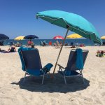 We provide beach chairs and umbrellas can be rented on the beach directly in front of the house.