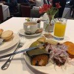 El desayuno...ninguna queja