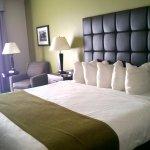 King room, mini pillows