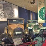Vintage cars at the Car Carriage and Caravan Museum