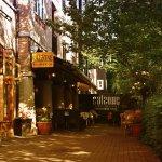 Lovely canal side restaurant