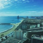 Amazing panoramic view of the city and the beach!