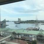 View of Inner Harbor from room