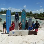 Boosy's surf school graduates