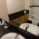 Really clean and spacious bathroom