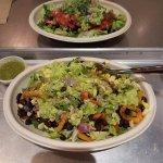 Veggie Burrito Bowl is amazing!!!