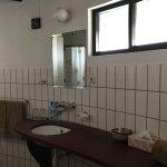 Bathroom is modern, hot water 24/7