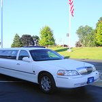 Limo Available in the evening to take you within 10 miles and then will pick you up with a phone