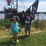 kids loved the Pirate accessories -purchased at a discount price when we booked online