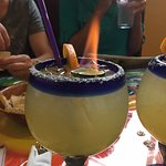 flaming margaritas is new to me