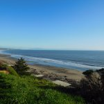 The view from above Seacliff, towards Rio Del Mar.