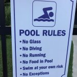 Pool Rules at Jack Huff's
