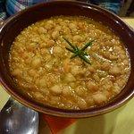 Ceci (chick-pea) soup