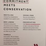 All about the environment but then the sheets are not breathable!