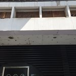 Disrepair of front entrance and lack of appearance upkeep