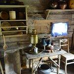 Inside the village house