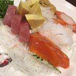 Sashimi Moriawase as served