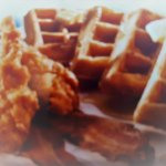MMM Chicken and Waffles.