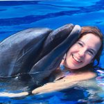 Loved dolphin Extreme and getting to swim with smart and friendly dolphins and such a smart and