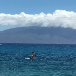 Paddle board at Kaanapali Beach