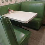 Booth for dining.
