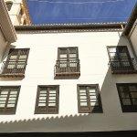 El patio interior que acoge el Museo de Historia de Granada