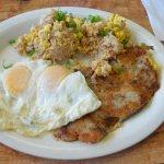 Eggs with Kailua hash